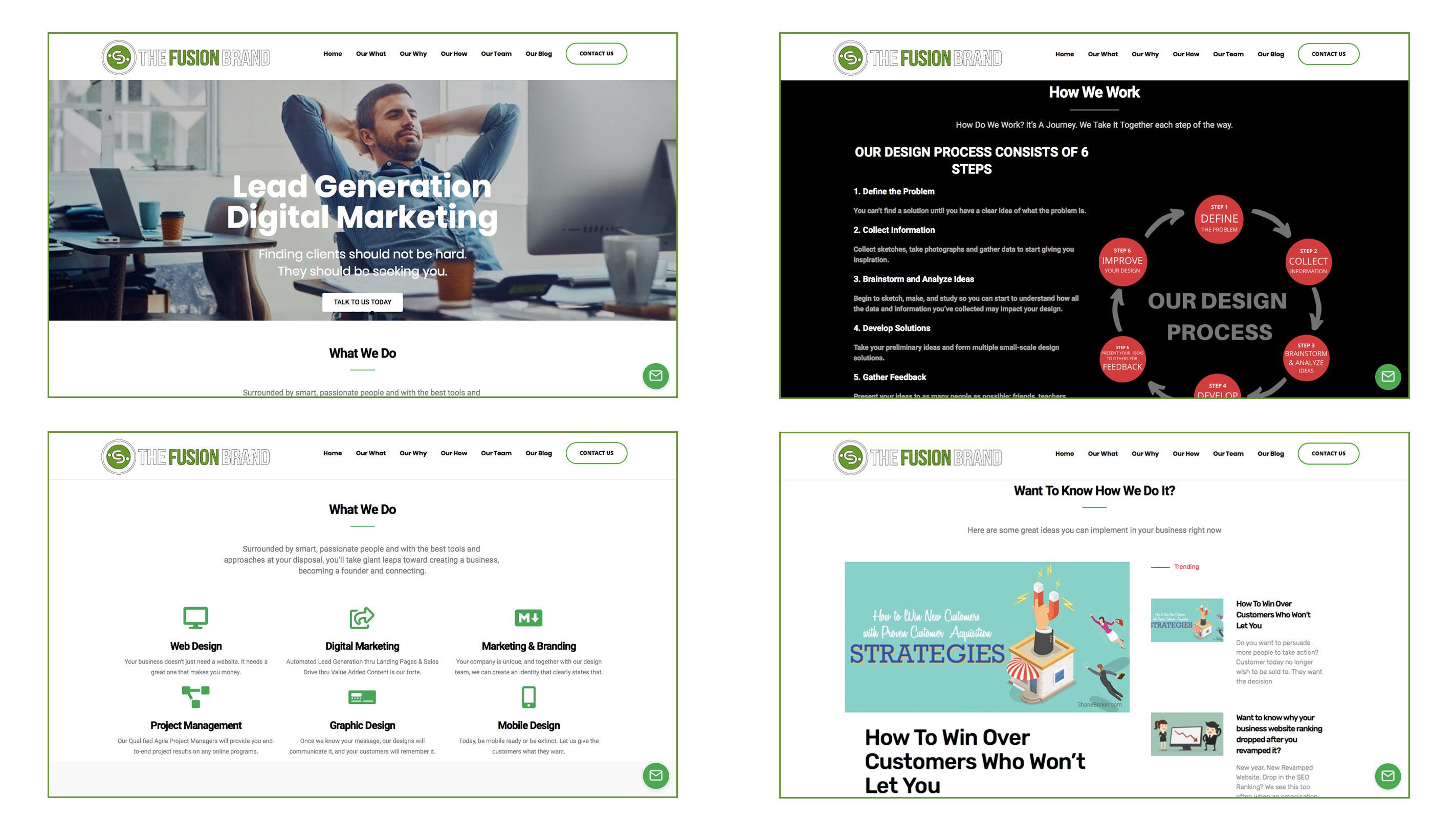 Digital Marketing WordPress Website